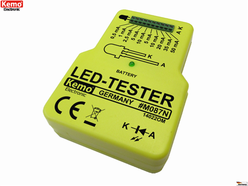 KEMO-M087N-Light-emiting-diode-Tester-LED-Tester-Made-in-Germany