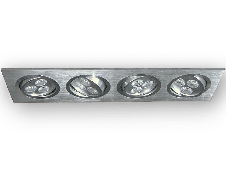 runder led einbaustrahler 230v gu10 strahler einbau lampe mr16 deckenspot lampe ebay. Black Bedroom Furniture Sets. Home Design Ideas