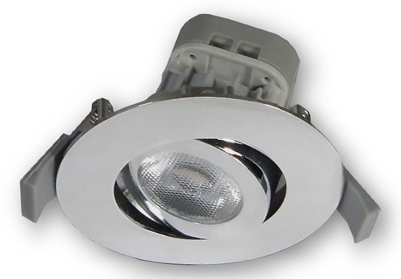 8 w led badlampe leuchten einbaustrahler spot ip23. Black Bedroom Furniture Sets. Home Design Ideas