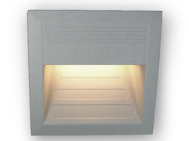 230 v led stufen beleuchtung treppen leuchte wand lampe einbaustrahler ebay. Black Bedroom Furniture Sets. Home Design Ideas