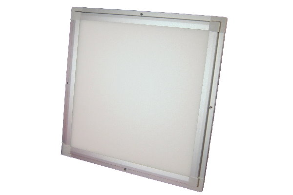 ultraslim high power led panel 230 v warmweiss ebay. Black Bedroom Furniture Sets. Home Design Ideas