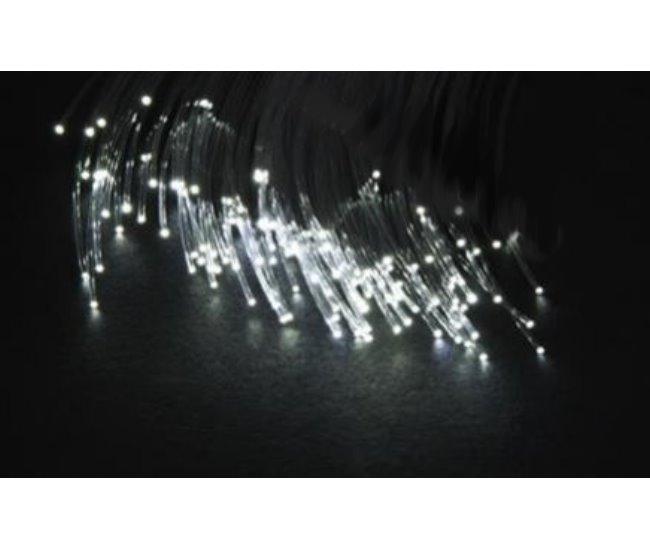 2 w led fiber glasfaser optic sternenhimmel licht stern spot leuchten ebay. Black Bedroom Furniture Sets. Home Design Ideas