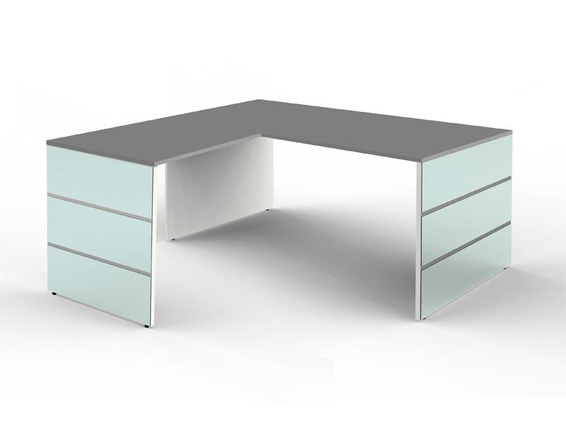 schreibtisch lugano 180 x 190 cm b rotisch winkelschreibtisch b rom bel ebay. Black Bedroom Furniture Sets. Home Design Ideas