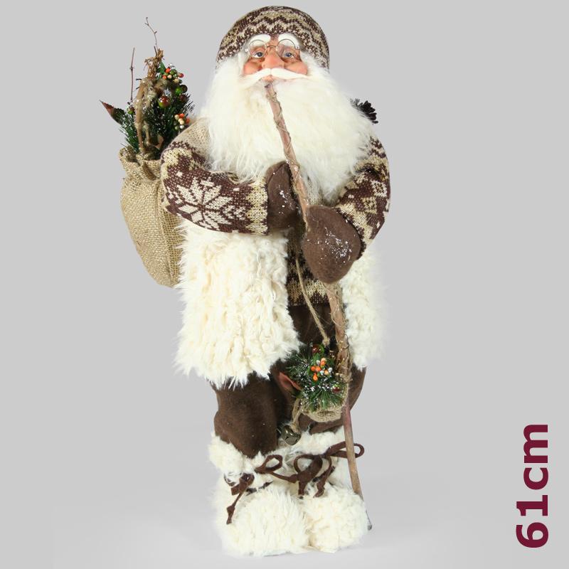 3 x santa clause nikolaus weihnachtsmann weihnachten figur. Black Bedroom Furniture Sets. Home Design Ideas
