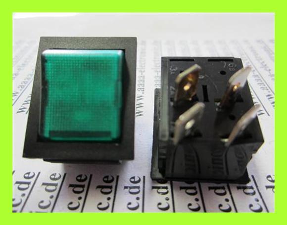 SCHALTER-Endschalter-Wipp-2xON-2-Polig-250VAC-16A-schwarz-grun-1-Stuck