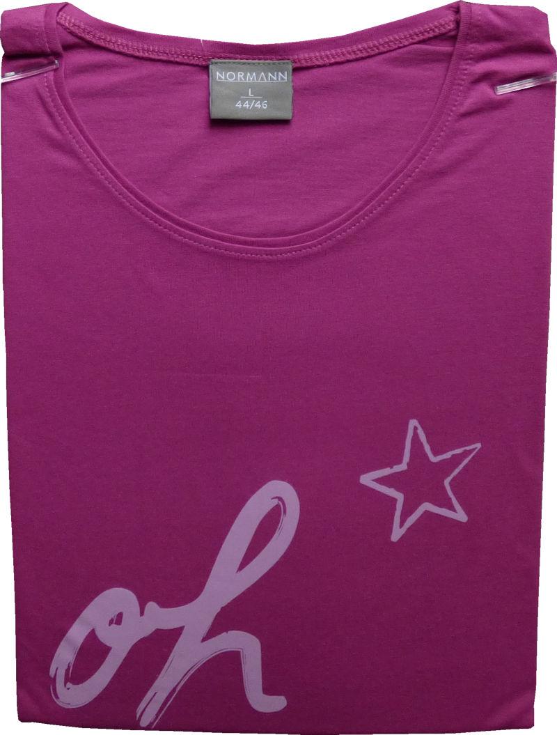 damen big shirt rundhals langarm baumwolle 53073 ebay. Black Bedroom Furniture Sets. Home Design Ideas
