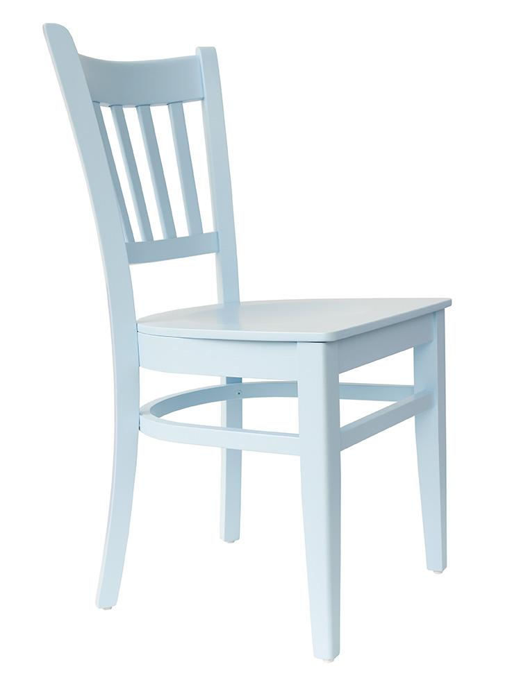 stuhl holzstuhl esszimmerstuhl buche holz blau lackiert t002 ebay. Black Bedroom Furniture Sets. Home Design Ideas