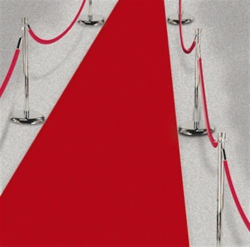 Roter-Teppich-4-5m-VIP-Dekoration-Hochzeit-Laeufer-PARTYdeko-GAG-Spass-rutschfest