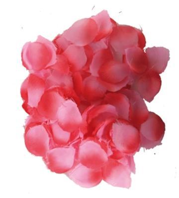 144-Rosenbluetenblaetter-Hochzeits-Dekoration-Blumen-Kinder-streuen-Uberraschung
