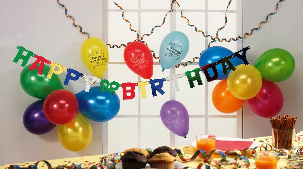 Partydekomarkt Geburtstagsdekoration