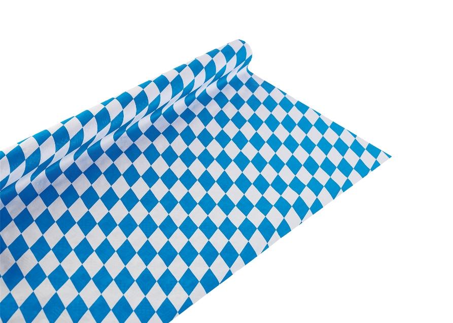 oktoberfest motto party stimmung einweg geschirr blau weiss wei bayrische raute ebay. Black Bedroom Furniture Sets. Home Design Ideas