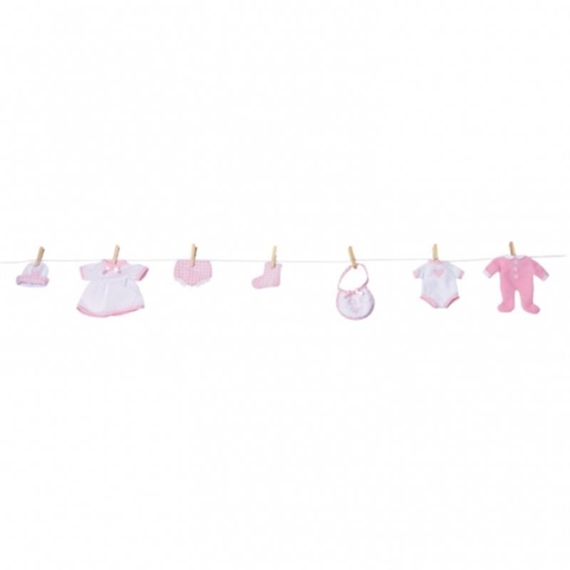 Dekoration Zur Geburt M Dchen Pinkel Party Baby Shower Raum Decken Dekoration Ebay