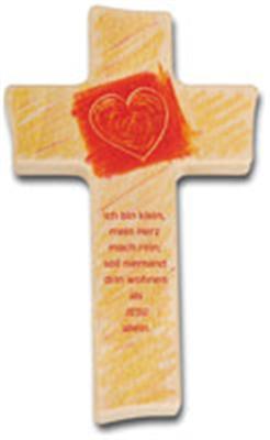 Holzkreuz kinder kreuz auswahl geschenk taufe geburt for Kinder dekoration