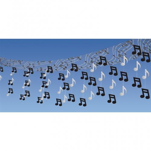 5 Decken H Nger Swirl Noten Musik Dekoration Party Rock N