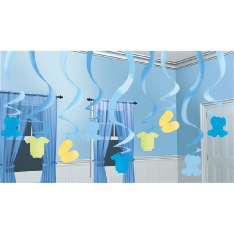 Dekoration Zur Geburt Junge Boy Pinkel Party Baby Shower Raum Decken Dekoration Ebay