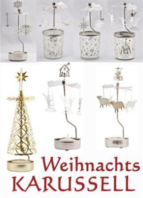 teelichthalter karussell weihnachten advent dekoration. Black Bedroom Furniture Sets. Home Design Ideas