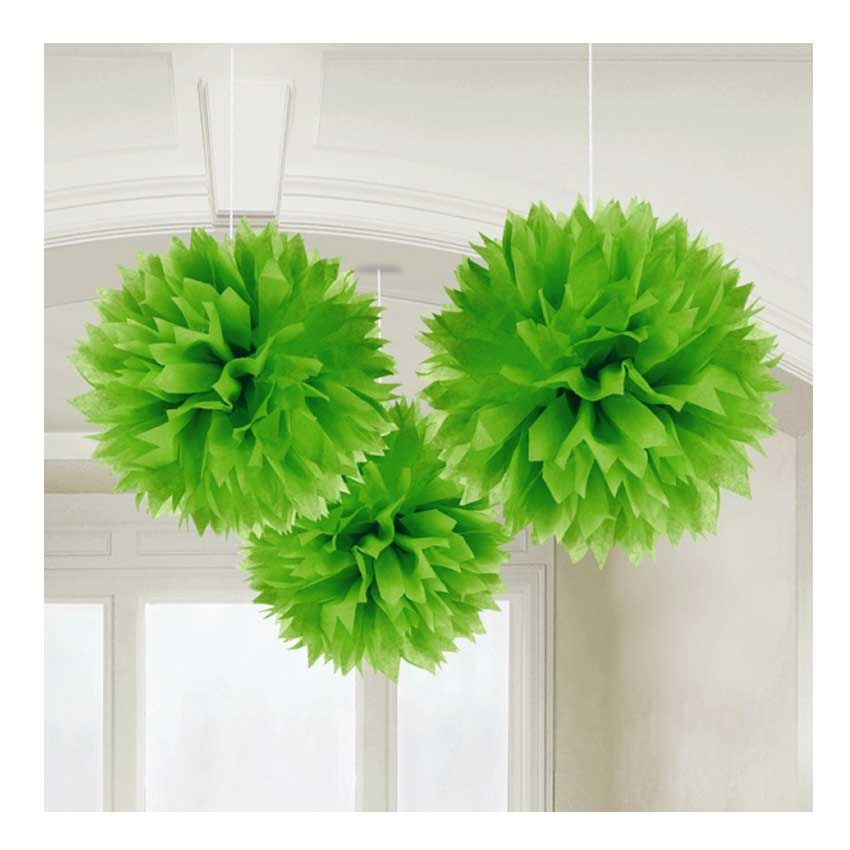 3x pompom xl 40cm papier blume basteln geburtstags. Black Bedroom Furniture Sets. Home Design Ideas