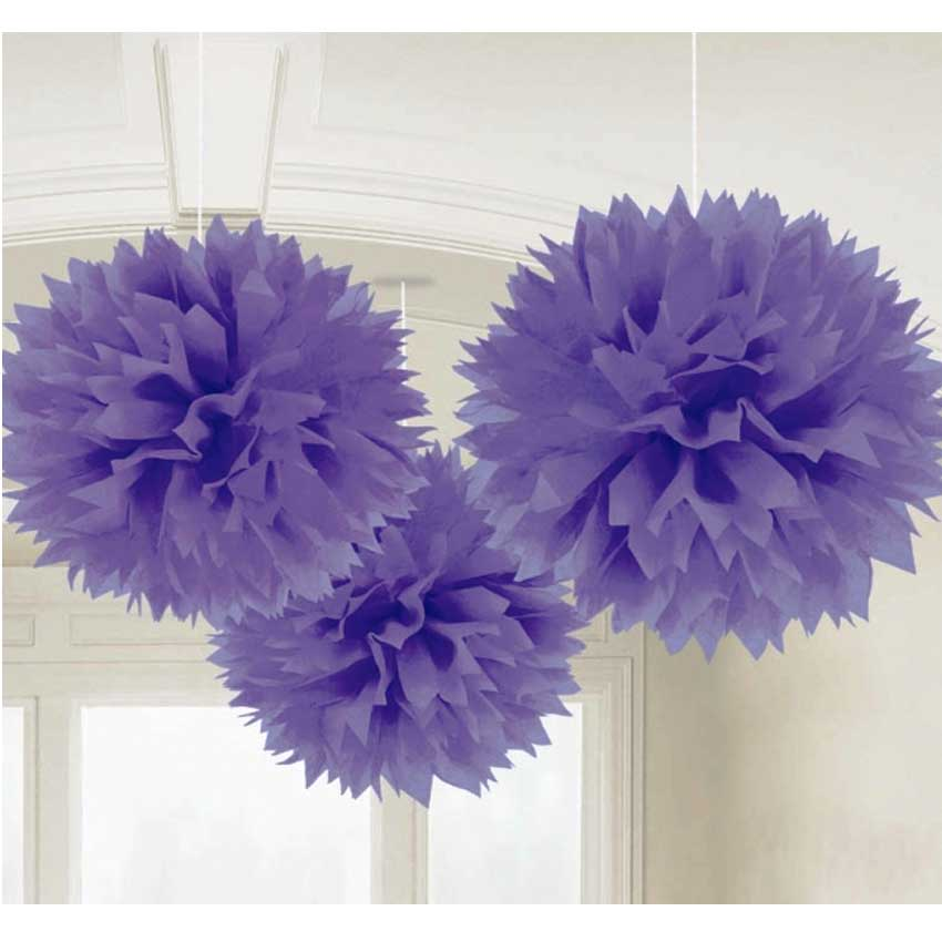 3x pompom xl 40cm papier blume basteln geburtstags hochzeits dekoration neu ebay. Black Bedroom Furniture Sets. Home Design Ideas