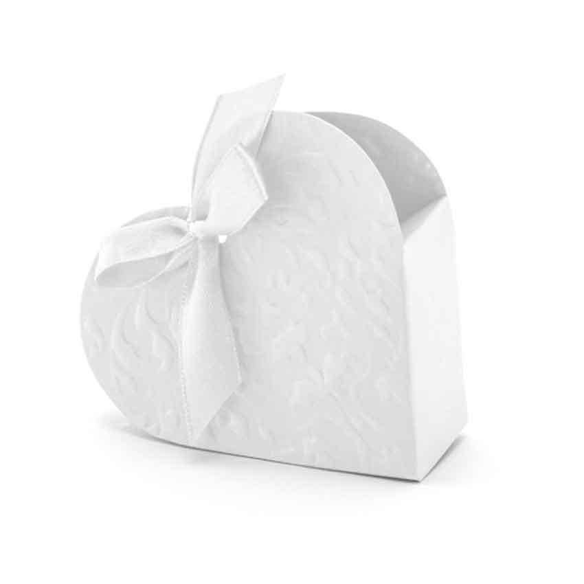 10 herz schachteln f r hochzeits gast geschenke mit schleife mitgebsel neu taufe ebay. Black Bedroom Furniture Sets. Home Design Ideas