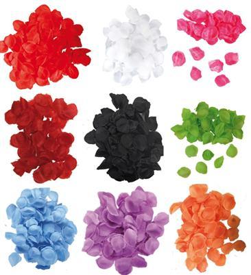 Rosenbluetenblaetter-FARBWUNSCH-Hochzeits-Dekoration-Streu-Material-Blumen-Kinder