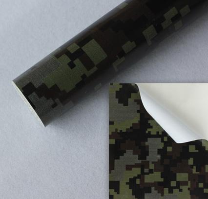 10 07eur qm auto folie klebefolie camouflage wrapping. Black Bedroom Furniture Sets. Home Design Ideas