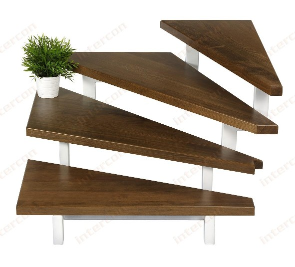 treppenstufen holzstufen treppe geschosstreppe ebay. Black Bedroom Furniture Sets. Home Design Ideas