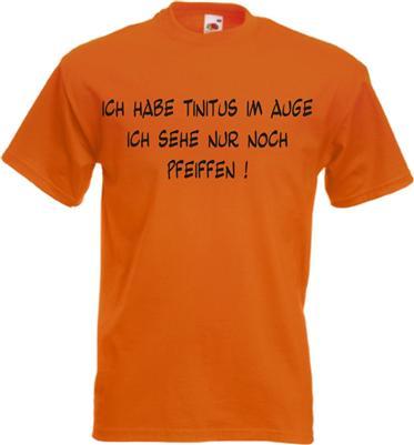 funshirt augentinitus t shirt witzig spruchshirt 8 farben. Black Bedroom Furniture Sets. Home Design Ideas