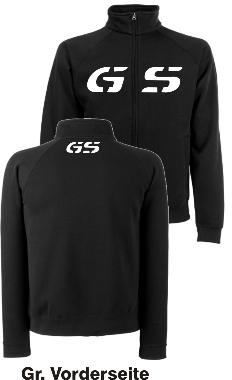 gs sweatjacke f r bmw motorrad fans r 1200 gs jacke r1200gs r1150gs r1100gs top ebay. Black Bedroom Furniture Sets. Home Design Ideas