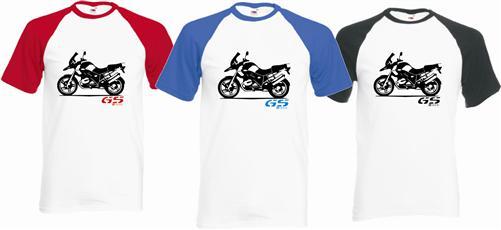 GS zweifarbiges T-Shirt für BMW Motorrad Fans 6 neue Designs S-2XL TOP Qualität