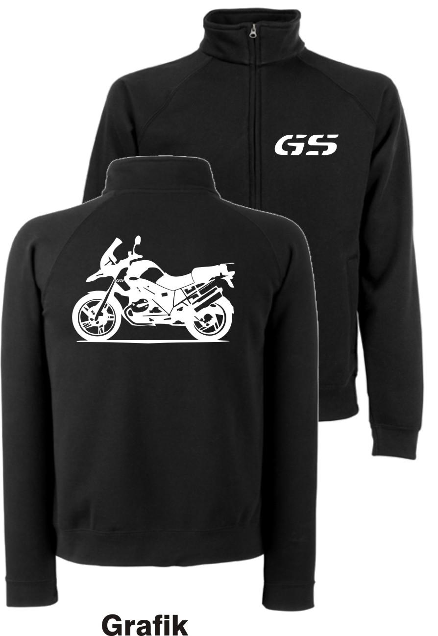 GS Sweatjacke für BMW Motorrad Fans R 1200 GS Jacke R1200GS R1150GS R1100GS TOP