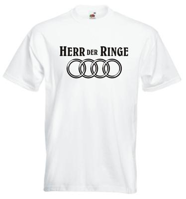 herr der ringe t shirt f r audi fans cooles funshirt s m l. Black Bedroom Furniture Sets. Home Design Ideas