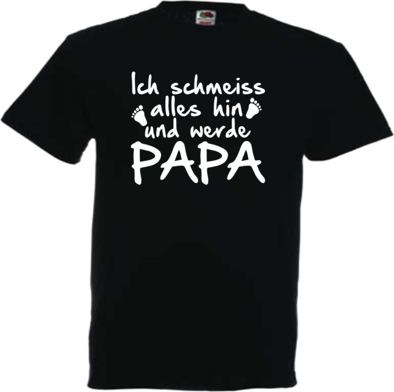 ich werde papa