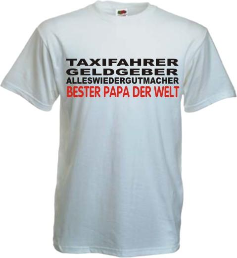 Bester papa t shirt taxifahrer vatertag geschenk - Geburtstag papa geschenk ...