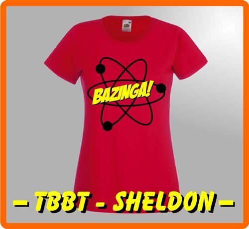 BAZINGA-T-Shirt-DAMEN-Big-Bang-Theorie-Sheldon-Kult-Serie-Funshirt-S-XXL