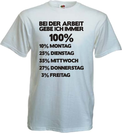 fun t shirt bei der arbeit arbeitsbekleidung witzig spruch. Black Bedroom Furniture Sets. Home Design Ideas
