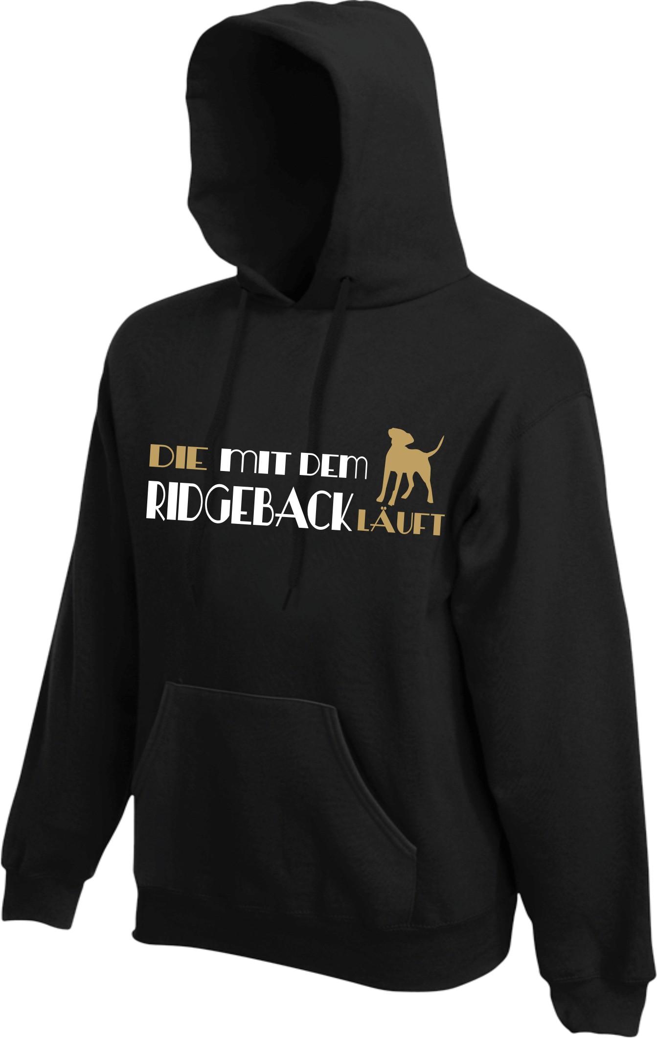 Ridgeback Pulli Hoodie Hund Hunde Geschenk Kapuze Sweater ...