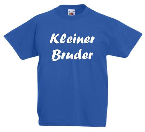 kinder t shirt kleiner bruder top angebot 92 98 104 116