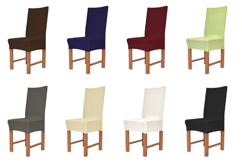 stuhlhusse husse elastic strechhusse stuhlbezug aus baumwolle stuhl berzug ebay. Black Bedroom Furniture Sets. Home Design Ideas