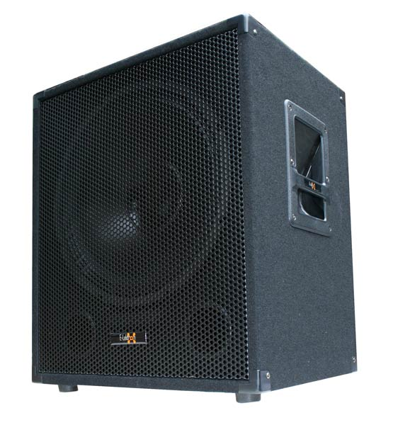 38cm 15 aktiv subwoofer dj pa bass lautsprecher box. Black Bedroom Furniture Sets. Home Design Ideas
