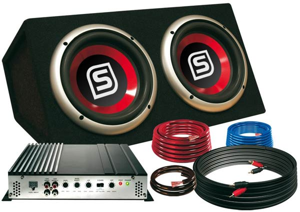 auto hifi set bass anlage boxen subwoofer verst rker ebay. Black Bedroom Furniture Sets. Home Design Ideas
