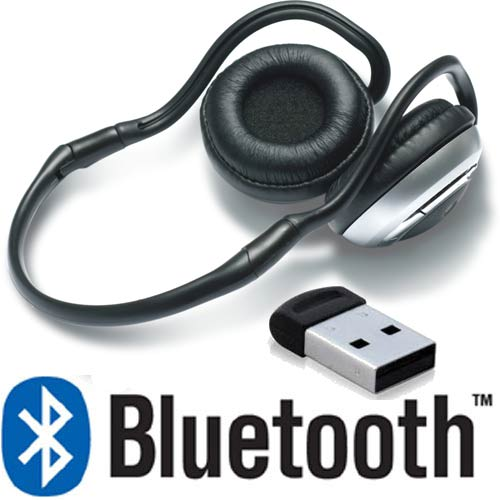 STEREO BLUETOOTH HEADSET+USB BT-ADAPTER Game/Skype/MP3