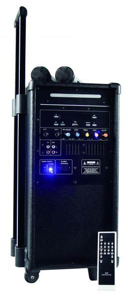 mobile pa anlage akku cd mp3 usb set karaoke soundsystem. Black Bedroom Furniture Sets. Home Design Ideas