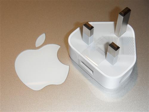 adapter f apple uk usa stecker netzteil ebay. Black Bedroom Furniture Sets. Home Design Ideas