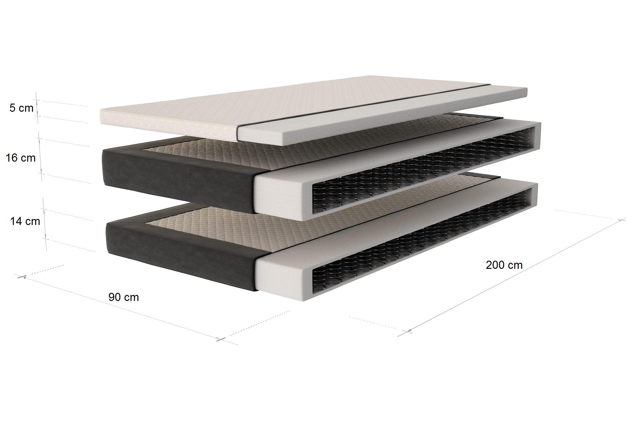 boxspring bett aquila design polsterbett designerbett. Black Bedroom Furniture Sets. Home Design Ideas