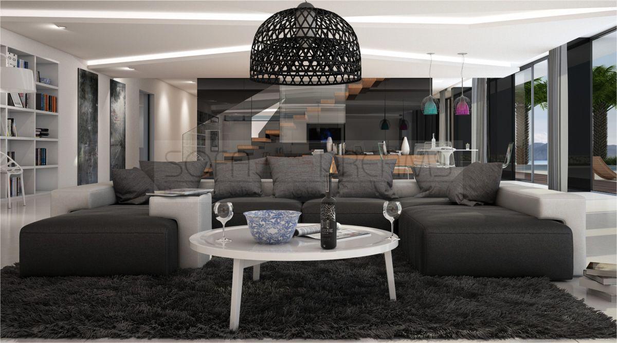 Xxl sofa u form  Sofa u form - angebote auf Waterige