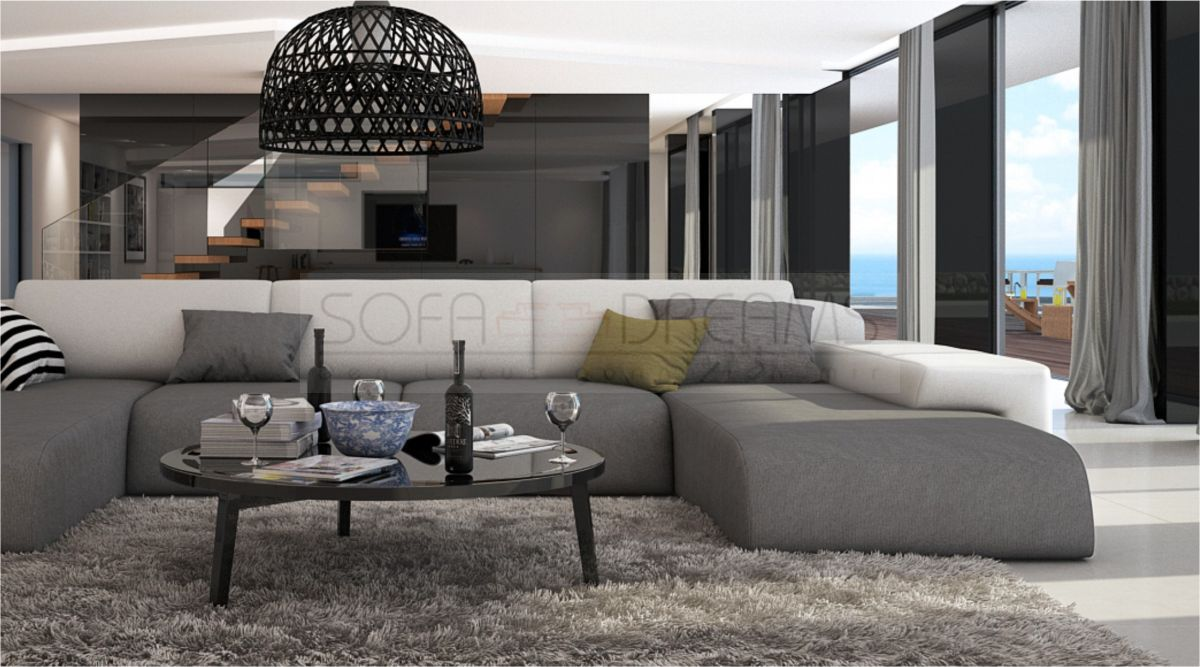 wohnlandschaft serlas u form design sofa eckcouch luxussofa kaufen bei. Black Bedroom Furniture Sets. Home Design Ideas