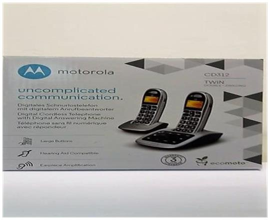 Motorola CD312 Twin