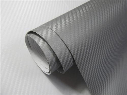 Blasenfreie 3d carbon folie schwarz mit luftkan len for Klebefolie grau hochglanz