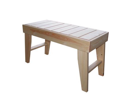 finn saunabank aus massivem holz bank sauna saunaliege ebay. Black Bedroom Furniture Sets. Home Design Ideas