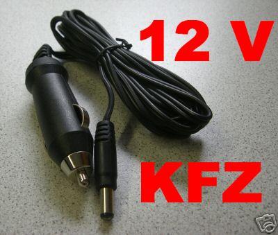 12v kfz kabel auto ladekabel f r viewfun dvd player ebay. Black Bedroom Furniture Sets. Home Design Ideas